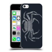 Official FLORENT BODART ANIMAL LINES Crab Blue Soft Gel Case for Apple iPhone 5c (C_E_1AF76)