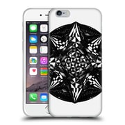 Official JOEL GRATTE BLACK AND WHITE Geometric Soft Gel Case for Apple iPhone 6 / 6s (C_F_1E06F)