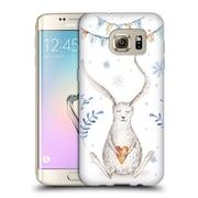 Official KRISTINA KVILIS CHRISTMAS Bunny Soft Gel Case for Samsung Galaxy S7 edge (C_1BA_1DDEA)