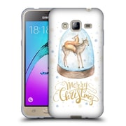 Official KRISTINA KVILIS CHRISTMAS Deer 3 Soft Gel Case for Samsung Galaxy J3 (C_1B6_1DDE7)
