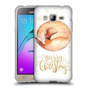 Official KRISTINA KVILIS CHRISTMAS Fox Soft Gel Case for Samsung Galaxy J3 (C_1B6_1DDE8)