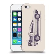 Official FLORENT BODART VEHICLES Delorean Soft Gel Case for Apple iPhone 5 / 5s / SE (C_D_1AFD9)