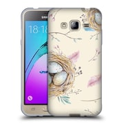 Official KRISTINA KVILIS FEATHERS Nest Soft Gel Case for Samsung Galaxy J3 (C_1B6_1DE06)