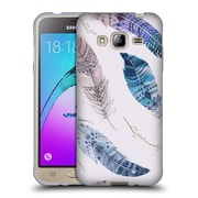 Official KRISTINA KVILIS FEATHERS Flying Soft Gel Case for Samsung Galaxy J3 (C_1B6_1DE02)