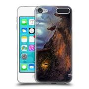 Official JOEL GRATTE ILLUSTRATION Forest Camouflage Soft Gel Case for Apple iPod Touch 6G 6th Gen (C_157_1E07E)