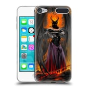 Official LA WILLIAMS FANTASY Lucifer Standing Soft Gel Case for Apple iPod Touch 6G 6th Gen (C_157_1D583)