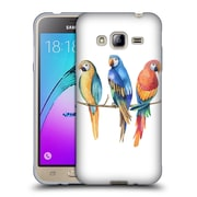 Official KRISTINA KVILIS BIRDS Parrot Soft Gel Case for Samsung Galaxy J3 (C_1B6_1DDE1)