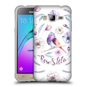 Official KRISTINA KVILIS BIRDS Rose And Lily 2 Soft Gel Case for Samsung Galaxy J3 (C_1B6_1DDD5)