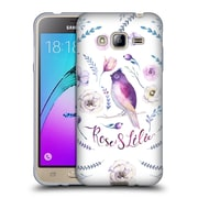 Official KRISTINA KVILIS BIRDS Rose And Lily 3 Soft Gel Case for Samsung Galaxy J3 (C_1B6_1DDD6)