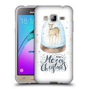 Official KRISTINA KVILIS CHRISTMAS Deer 2 Soft Gel Case for Samsung Galaxy J3 (C_1B6_1DDE6)