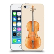 Official FLORENT BODART MUSIC Cello Soft Gel Case for Apple iPhone 5 / 5s / SE (C_D_1AFAE)