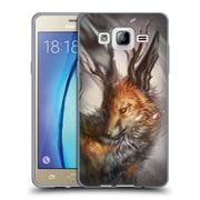 Official EXILEDEN CANINE Fantasy Fox Soft Gel Case for Samsung Galaxy On5 (C_1B7_1C838)