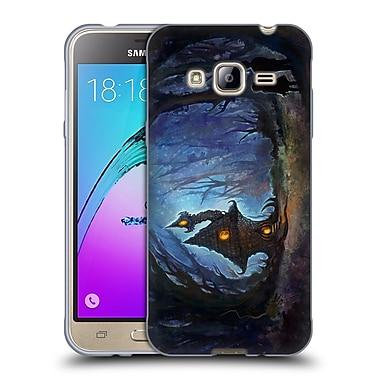 Official JOEL GRATTE ILLUSTRATION House In The Woods Soft Gel Case for Samsung Galaxy J3 (C_1B6_1E081)