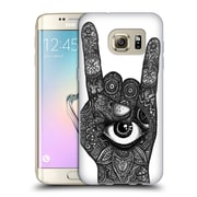 Official JOEL GRATTE BLACK AND WHITE Rocker Soft Gel Case for Samsung Galaxy S7 edge (C_1BA_1E073)