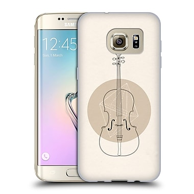 Official FLORENT BODART MUSIC Cello Geo Soft Gel Case for Samsung Galaxy S7 edge (C_1BA_1AFAD)