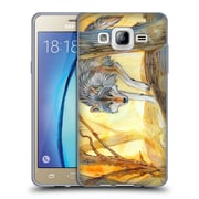 Official EXILEDEN CANINE Wolf Watercolour Soft Gel Case for Samsung Galaxy On5 (C_1B7_1C83D)