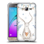 Official KRISTINA KVILIS CHRISTMAS Bunny Soft Gel Case for Samsung Galaxy J3 (C_1B6_1DDEA)