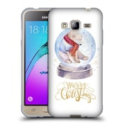 Official KRISTINA KVILIS CHRISTMAS Bear Soft Gel Case for Samsung Galaxy J3 (C_1B6_1DDE2)