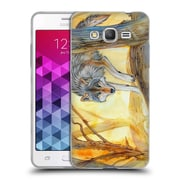 Official EXILEDEN CANINE Wolf Watercolour Soft Gel Case for Samsung Galaxy Grand Prime (C_B5_1C83D)