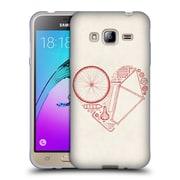 Official FLORENT BODART BIKES Love 2 Soft Gel Case for Samsung Galaxy J3 (C_1B6_1AF96)