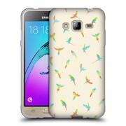 Official FLORENT BODART PATTERNS 2 Papagei Soft Gel Case for Samsung Galaxy J3 (C_1B6_1AFC6)