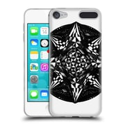 Official JOEL GRATTE BLACK AND WHITE Geometric Soft Gel Case for Apple iPod Touch 6G 6th Gen (C_157_1E06F)