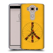 Official FLORENT BODART BIKES Peace Yellow Soft Gel Case for LG V10 (C_19A_1AF9A)