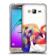 Official JACQUELINE MALDONADO ANIMALS The Majestic Soft Gel Case for Samsung Galaxy J3 (C_1B6_1BDE3)