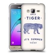 Official FLORENT BODART ANIMALS 2 Smile Tiger Soft Gel Case for Samsung Galaxy J3 (C_1B6_1AF94)