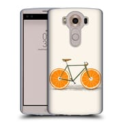 Official FLORENT BODART BIKES Orange Wheels Soft Gel Case for LG V10 (C_19A_1AF98)
