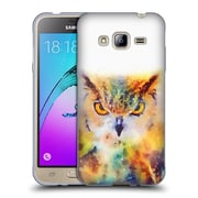 Official JACQUELINE MALDONADO ANIMALS The Wise Soft Gel Case for Samsung Galaxy J3 (C_1B6_1BDE5)
