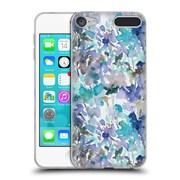 Official JACQUELINE MALDONADO PATTERNS Local Colour Mint Blue Soft Gel Case for Apple iPod Touch 6G 6th Gen (C_157_1BDF3)