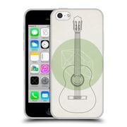 Official FLORENT BODART MUSIC Guitar Soft Gel Case for Apple iPhone 5c (C_E_1AFB1)