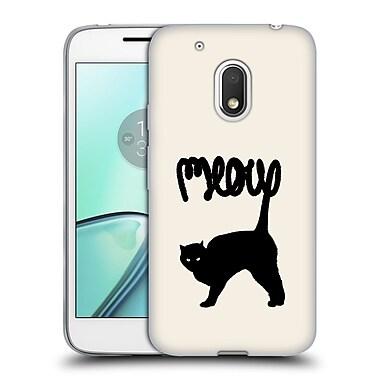 Official FLORENT BODART ANIMALS Meow Soft Gel Case for Motorola Moto G4 Play (C_1FB_1AF87)