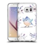 Official KRISTINA KVILIS BIRDS Bohemian Floral Bouquets 3 Soft Gel Case for Samsung Galaxy S7 (C_1B9_1DDD9)