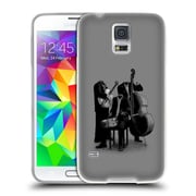 Official FLORENT BODART MUSIC Les Invisibles Soft Gel Case for Samsung Galaxy S5 / S5 Neo (C_AB_1AFB3)