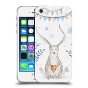 Official KRISTINA KVILIS CHRISTMAS Bunny Soft Gel Case for Apple iPhone 5 / 5s / SE (C_D_1DDEA)