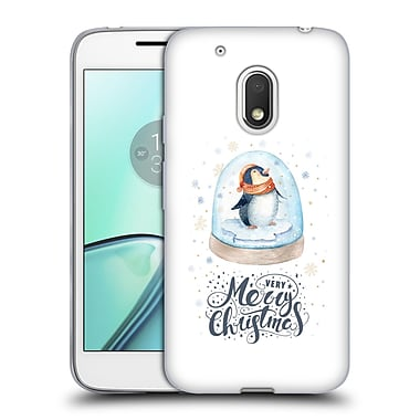 Official KRISTINA KVILIS CHRISTMAS Penguin 2 Soft Gel Case for Motorola Moto G4 Play (C_1FB_1DDE4)