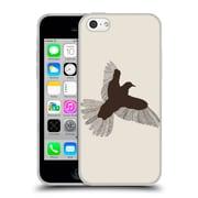 Official FLORENT BODART ANIMAL LINES Bird Beige Soft Gel Case for Apple iPhone 5c (C_E_1AF73)