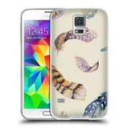 Official KRISTINA KVILIS FEATHERS Motion Soft Gel Case for Samsung Galaxy S5 / S5 Neo (C_AB_1DDFC)