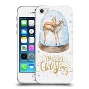 Official KRISTINA KVILIS CHRISTMAS Deer 3 Soft Gel Case for Apple iPhone 5 / 5s / SE (C_D_1DDE7)