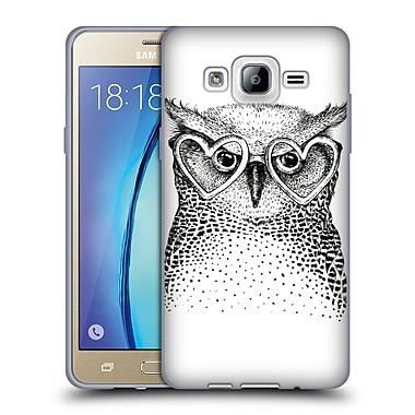 Official KRISTINA KVILIS BIRDS Owl 3 Soft Gel Case for Samsung Galaxy On5 (C_1B7_1DDE0)