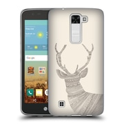 Official FLORENT BODART ANIMAL LINES Stag Beige Soft Gel Case for LG K7 K330 / Tribute 5 (C_1BE_1AF7C)