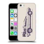 Official FLORENT BODART VEHICLES Delorean Soft Gel Case for Apple iPhone 5c (C_E_1AFD9)