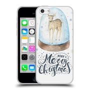 Official KRISTINA KVILIS CHRISTMAS Deer 2 Soft Gel Case for Apple iPhone 5c (C_E_1DDE6)