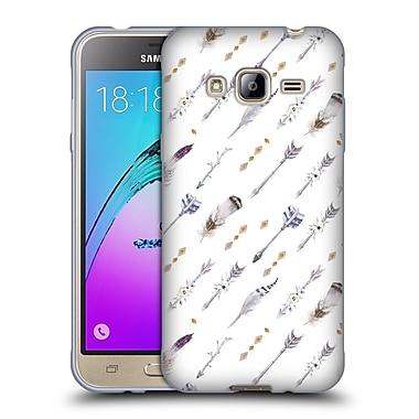 Official KRISTINA KVILIS ARROW Pattern 7 Soft Gel Case for Samsung Galaxy J3 (C_1B6_1DDD2)