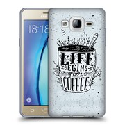 Official KRISTINA KVILIS TYPOGRAPHY Coffee Soft Gel Case for Samsung Galaxy On5 (C_1B7_1DE24)