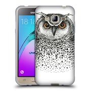 Official KRISTINA KVILIS BIRDS Owl 2 Soft Gel Case for Samsung Galaxy J3 (C_1B6_1DDDF)