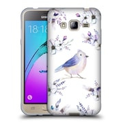 Official KRISTINA KVILIS BIRDS Bohemian Floral Bouquets 4 Soft Gel Case for Samsung Galaxy J3 (C_1B6_1DDDA)