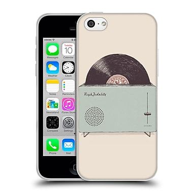 Official FLORENT BODART MUSIC High Fidelity Soft Gel Case for Apple iPhone 5c (C_E_1AFB2)